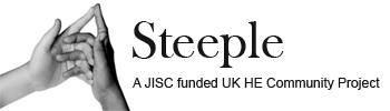Steeple - A JISC funded UK HE Community Project